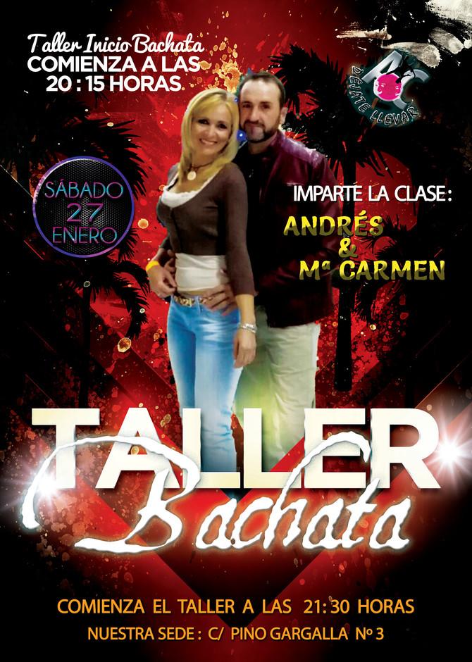 Taller de Baile para el Sábado 27 de Enero
