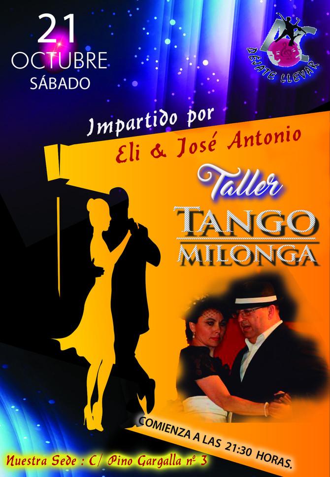 Taller de TANGO y MILONGA