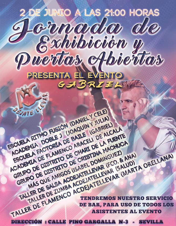 Jornada de Exhibiciones y Puertas  Abiertas, para el próximo día 2 de Junio.