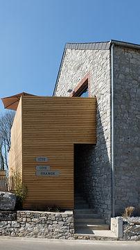 Gite cote grange_philippeville_facade.jp