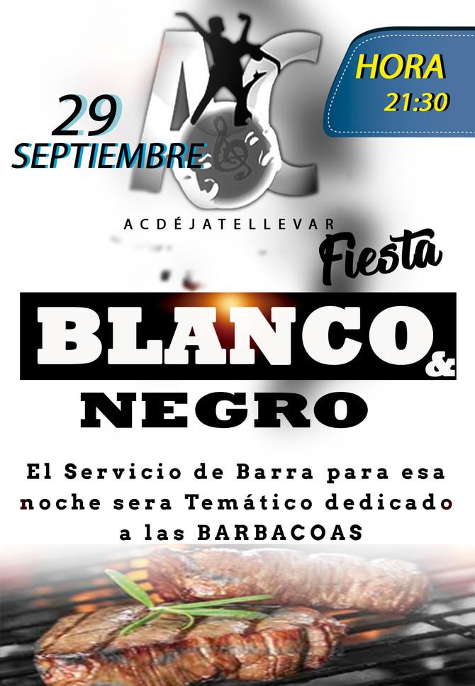 Fiesta Blanco & Negro