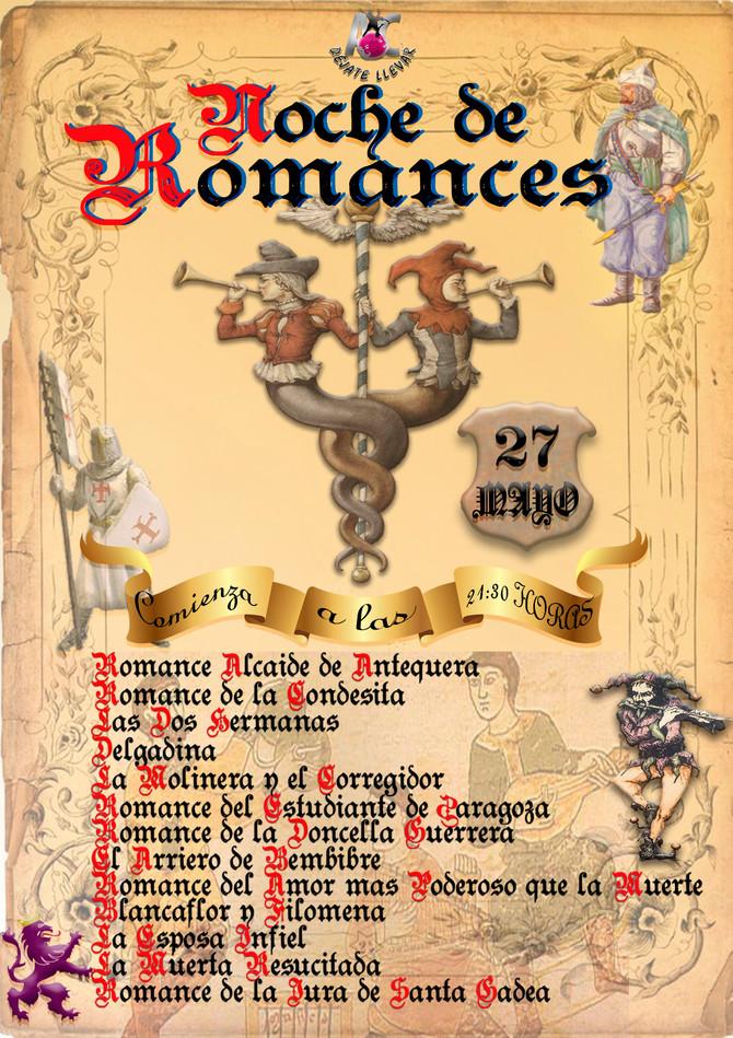 Noche de Romances en ACDÉJATELLEVAR