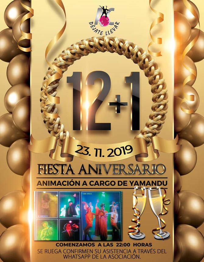 Fiesta y Cena Aniversario 2019