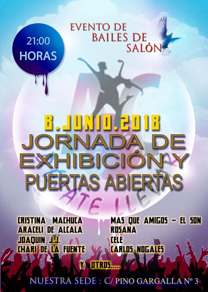 Jornada de Exhibiciones y Puertas  Abiertas, para el próximo día 8 de Junio.