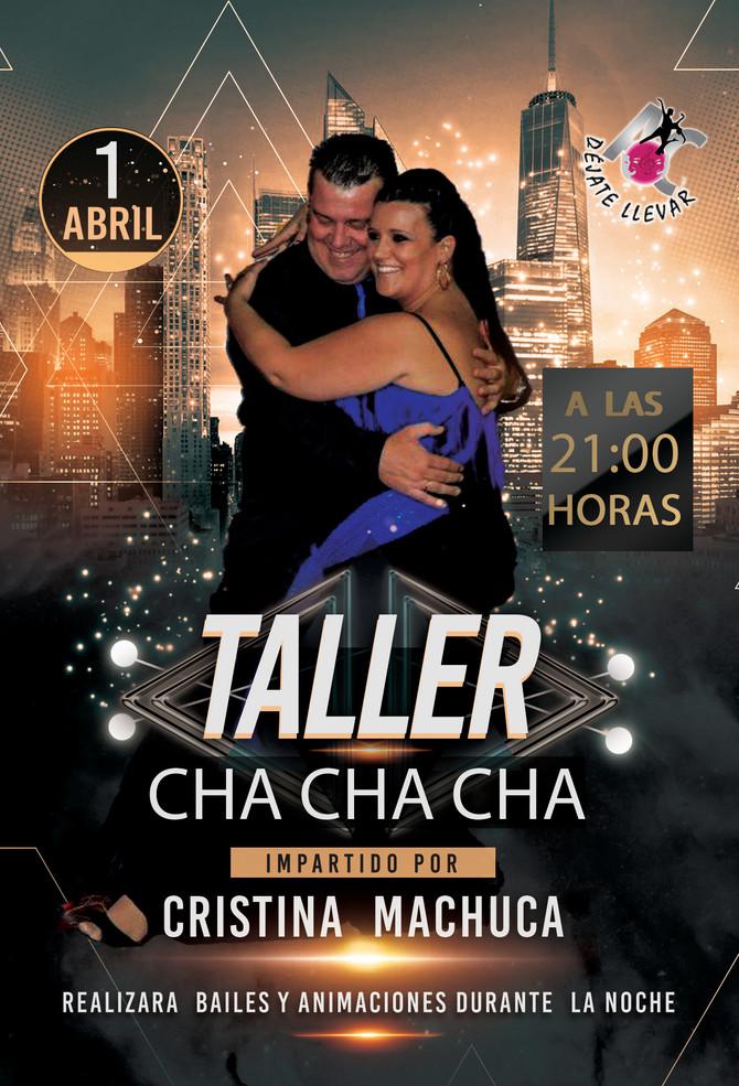 Taller de Baile para el Sábado 1 de Abril.
