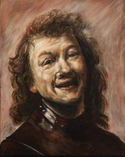 De lachende Rembrand