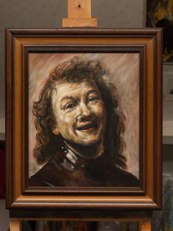 De lachende Rembrandt