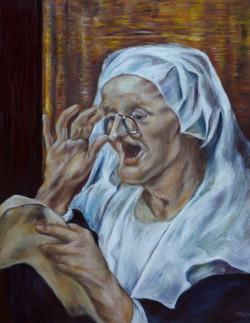 Zingende grootmoeder
