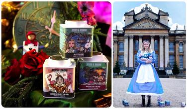 Alice In Wonderland Tea Boxes.