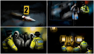 Connect Knife Crime Animation.
