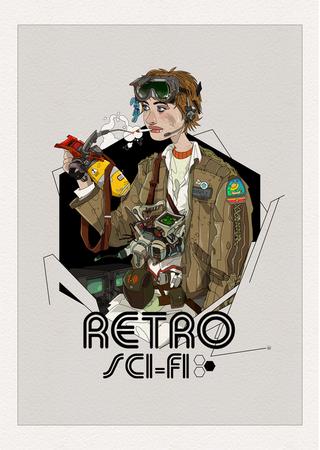 Retro Sci-Fi.