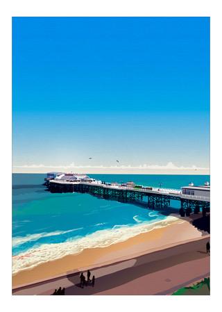 Cromer Pier. UK.