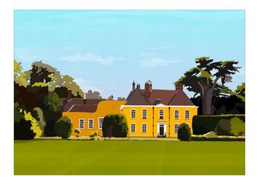 Ixworth Abbey House. UK.