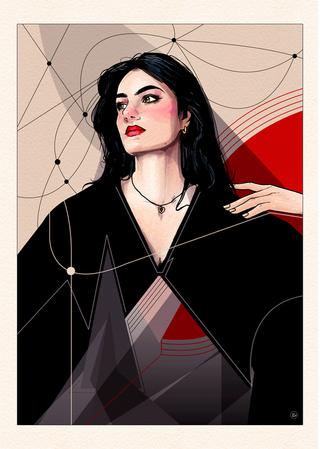 Zoïa Mossour Portrait.