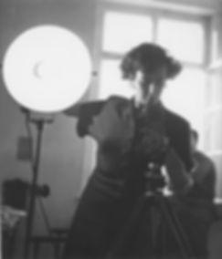 Portrait of Lore Lisbeth Waller, Studio,