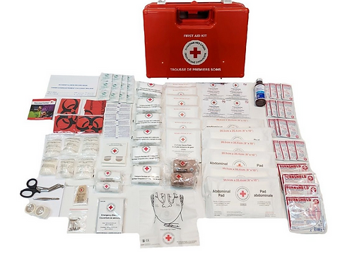 N.B. First Aid Kit in ABS Box