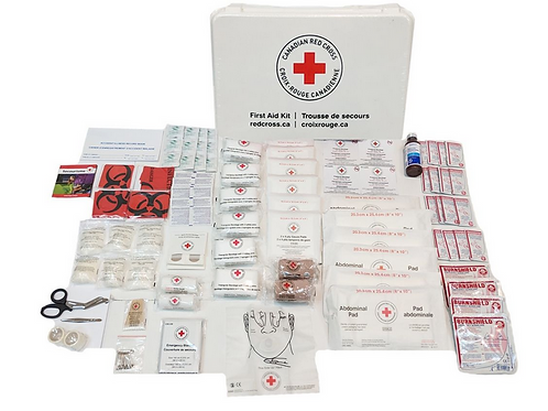 N.B. First Aid Kit in Plastic Case
