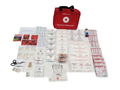 N.B. First Aid Kit in Nylon Bag