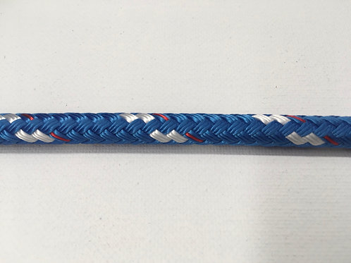 "1/2"" SC Blue Sta Set Polyester Double Braid"