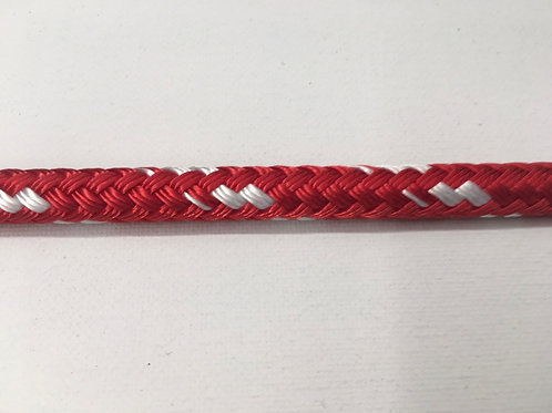 """3/8"""" SC Red Sta Set Polyester Double Braid"""
