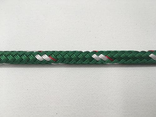 "5/16"" SC Green Sta-Set Polyester Double Braid"