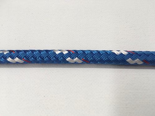 "1/4"" SC Blue Sta Set Polyester Double Braid"