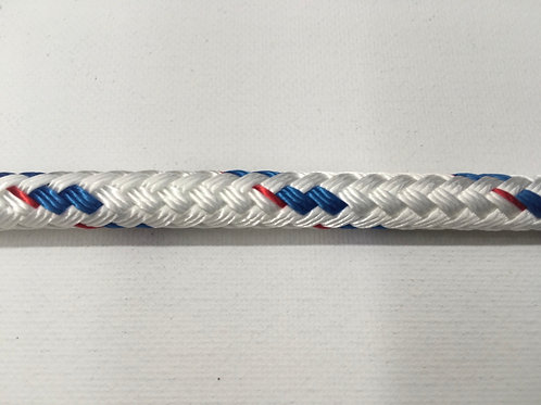 "3/8"" CC Blue Sta Set Polyester Double Braid"