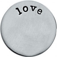 'Love' backing plate