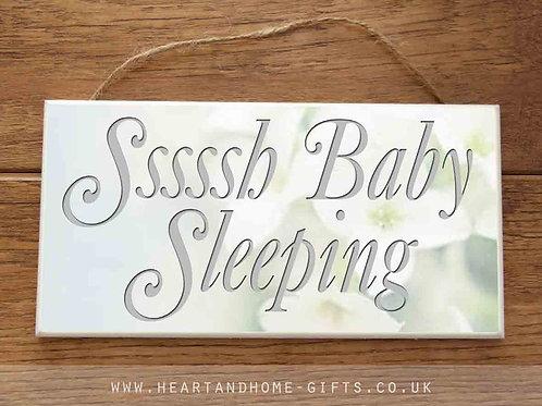 Sssh, Baby Sleeping!