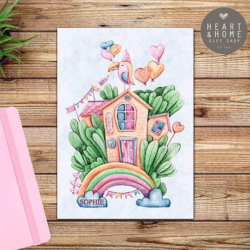 My Rainbow Tree House - Design 2 (D/C)