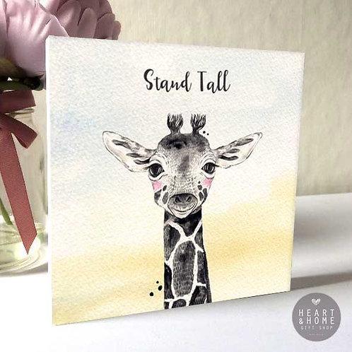 'Stand Tall' Baby Giraffe (Wooden Block)...