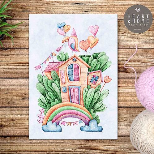 My Rainbow Tree House (Design 2)