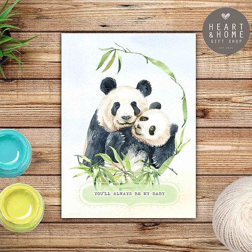 My Baby and Me (Panda)