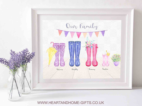 Our 'Wellington Boot' Family...