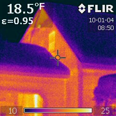 We use infrared cameras for many of our home inspections.  They can help us find heat loss, possible leaks and a number of other observations.