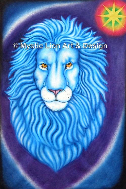 Blue Star Lion