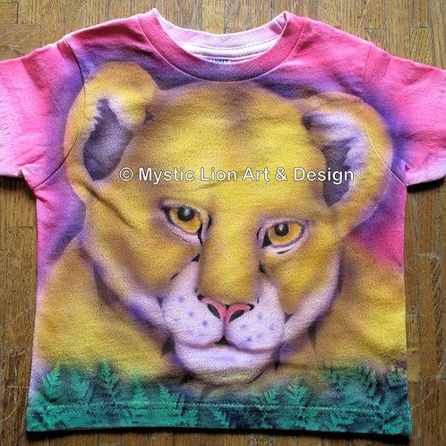 Pink Lioness Cub shirt