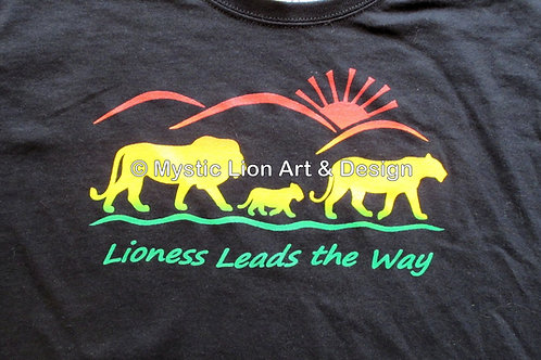 Lioness Leads the Way shirt