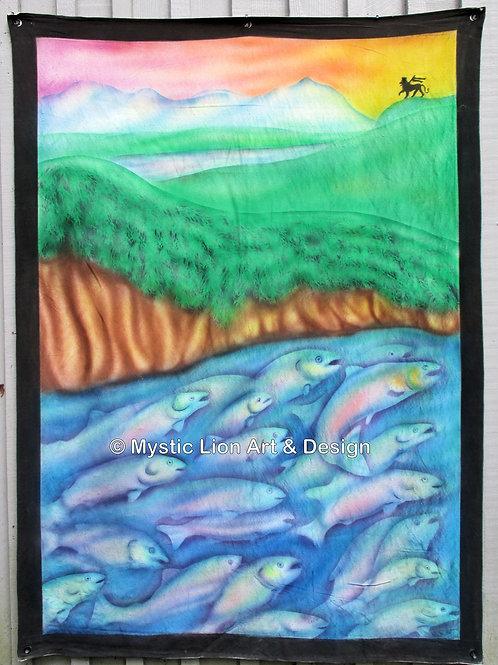 22 Salmon Banner