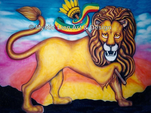 Staff Lion