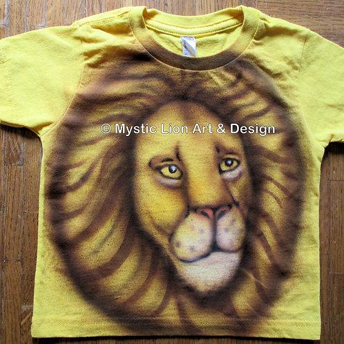 Small Yellow Lion