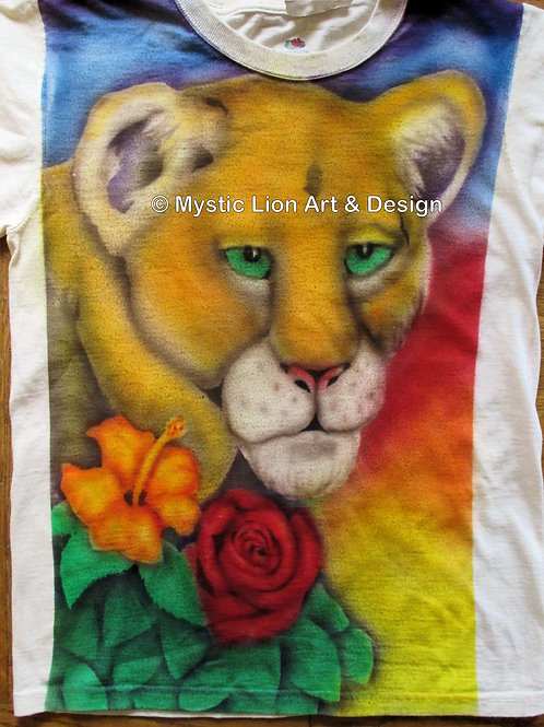 Flower Lioness shirt