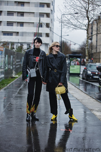 The Best Street Style at Balenciaga - Paris Fashion Week - March 20
