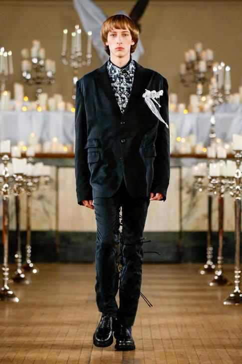 Jordanluca AW20 London Fashion Week Men's