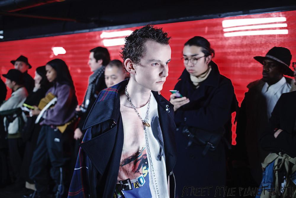 "KIDILL AW20 ""Fuck Forever"" Gibus Club, Paris - 14 January 2020"