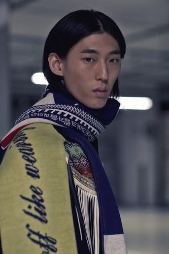 Youser - Backstage, Seoul Fashion Week