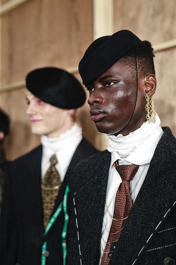 MüNN - Backstage AW20 - London Fashion Week Men's January 2020