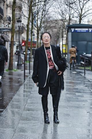 The Best Street Style at Noir Kei Ninomiya - Paris Fashion Week - 29 Feb 20