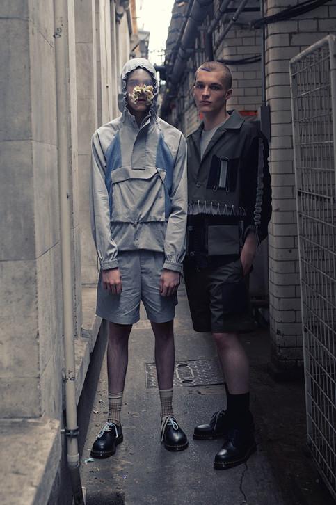 Backstage 1X1 Studio SS20  London Fashion Week Mens 2019