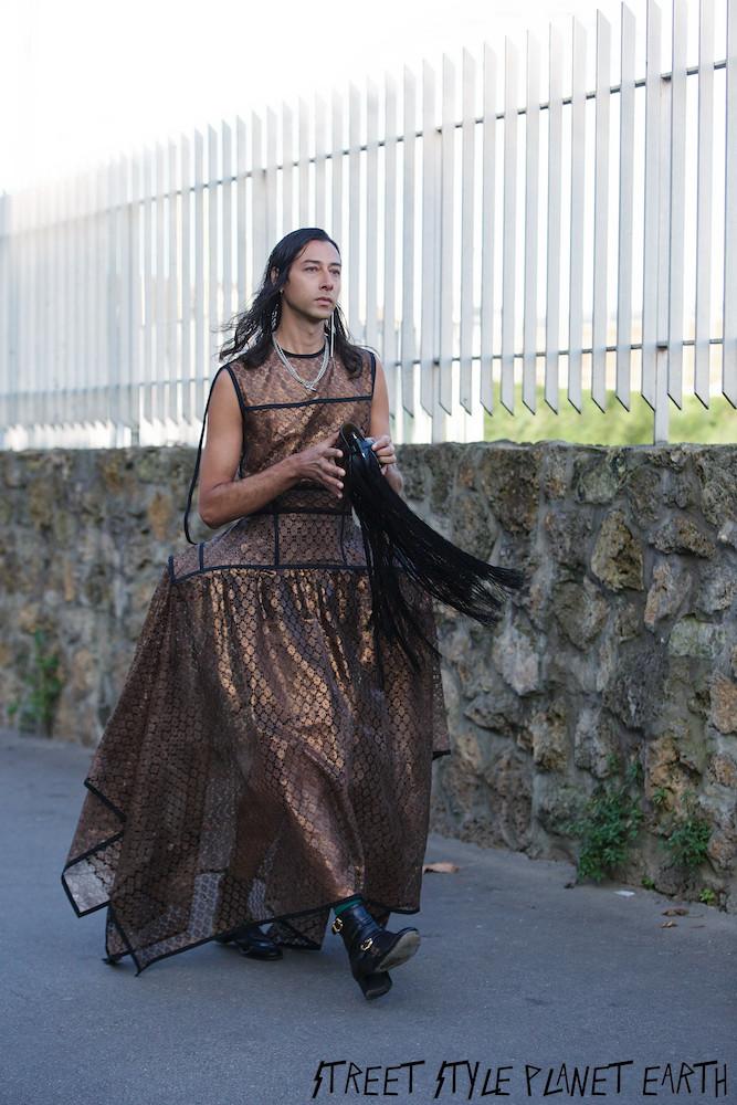Best Guest Street Style at LOEWE Paris Fashion Week Men's January 2020